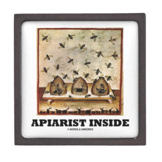 Apiarist Inside (Tacuina sanitatis 14th Century) Premium Keepsake Boxes
