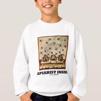 Apiarist Inside (Tacuina sanitatis 14th Century) Sweatshirt