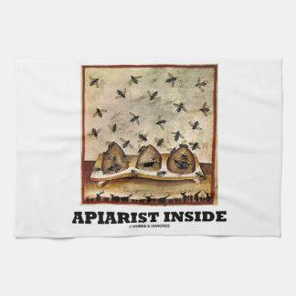 Apiarist Inside (Tacuina sanitatis 14th Century) Towel