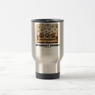 Apiarist Inside (Tacuina sanitatis 14th Century) Travel Mug