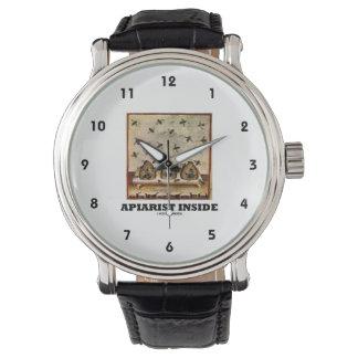 Apiarist Inside (Tacuina sanitatis 14th Century) Wrist Watches