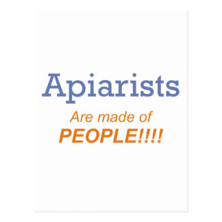 Apiarists are made of people!!! postcard