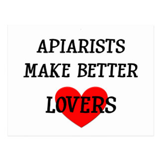 Apiarists Make Better Lovers Postcard