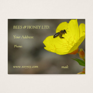 Apiary business card