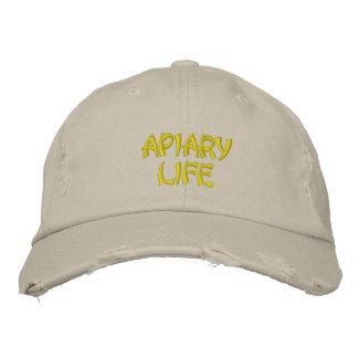 Apiary Life Custom Distressed Baseball Cap