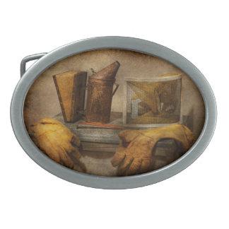 Apiary - The Beekeeper Oval Belt Buckle