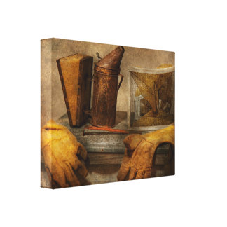 Apiary - The Beekeeper Canvas Print