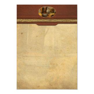 "Apiary - The Beekeeper 5"" X 7"" Invitation Card"
