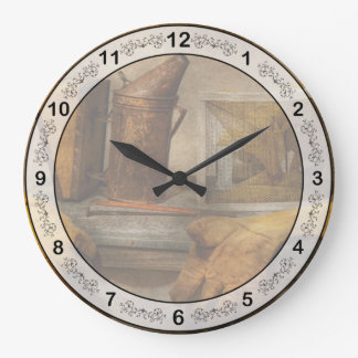 Apiary - The Beekeeper Large Clock