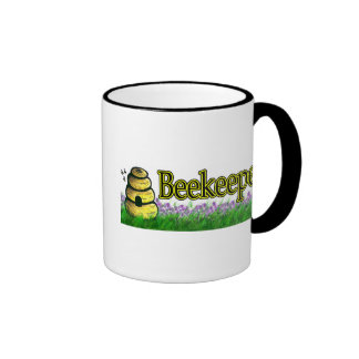 apicultor 1 taza de dos colores