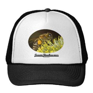 Apicultor del equipo (abeja en la flor amarilla) gorros