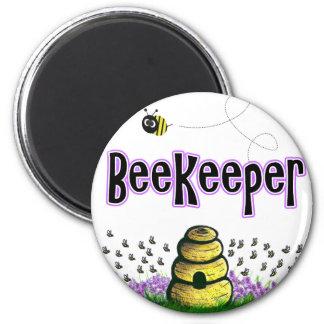 apicultor imán redondo 5 cm