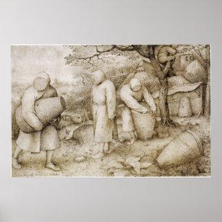 Apicultores de Pieter Bruegel la anciano Impresiones
