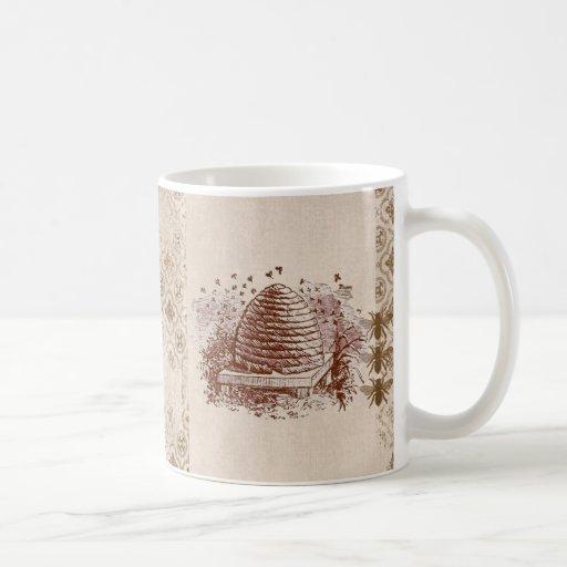 Apicultura de la colmena del vintage taza