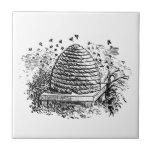 Apicultura de las abejas de la miel de la colmena  teja cerámica