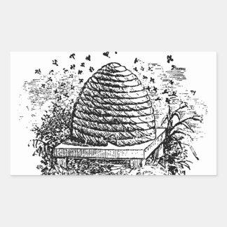 Apicultura de las abejas de la miel de la colmena rectangular altavoces