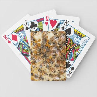 Apicultura en la granja de la miel de Arlo Baraja Cartas De Poker