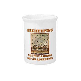 Apicultura no apenas una afición pero una aventura jarras