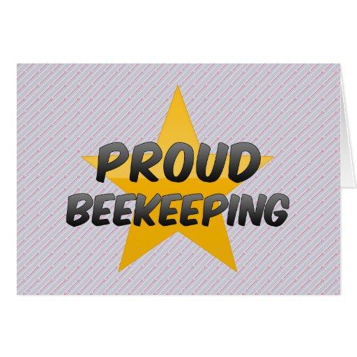 Apicultura orgullosa felicitaciones
