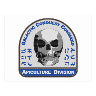 Apiculture Division - Galactic Conquest Command Postcard
