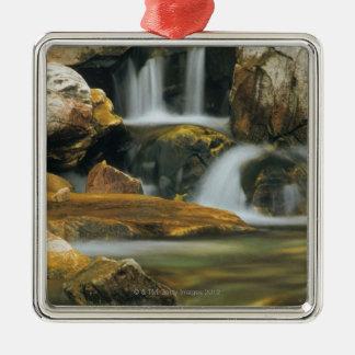Apikuni Falls in Glacier National Park, Montana Metal Ornament