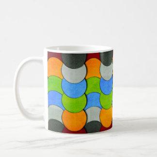 Apilado Círculo-Texturizado Tazas De Café