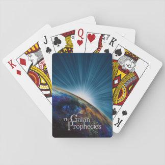 Apile las tarjetas en su favor barajas de cartas