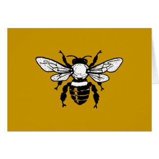 Apis Mellifera Honeybee Greeting Card