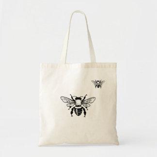 Apis Mellifera Honeybee Tote Bag