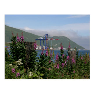 APL Crane in Dutch Harbor, Alaska Postcards