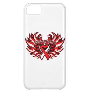 Aplastic Anemia Awareness Heart Wings iPhone 5C Covers