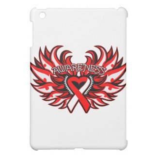 Aplastic Anemia Awareness Heart Wings iPad Mini Cover