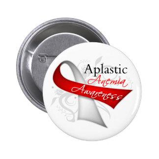 Aplastic Anemia Awareness Ribbon Button