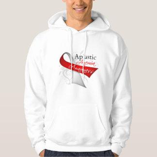 Aplastic Anemia Awareness Ribbon Hoody