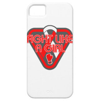 Aplastic Anemia Fight Like A Girl Glove iPhone 5 Cases