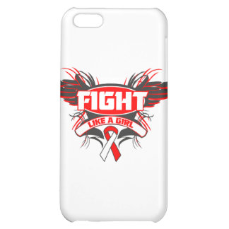 Aplastic Anemia Fight Like a Girl Wings.png Case For iPhone 5C