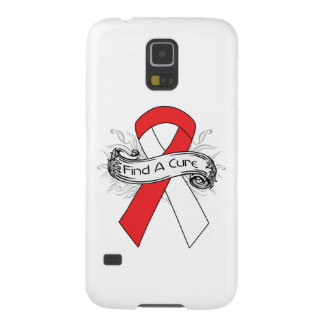 Aplastic Anemia Find A Cure Ribbon Galaxy S5 Cases