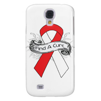 Aplastic Anemia Find A Cure Ribbon Galaxy S4 Cases