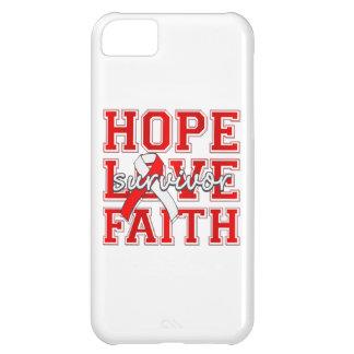 Aplastic Anemia Hope Love Faith Survivor iPhone 5C Cases