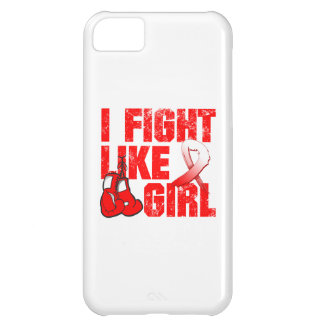Aplastic Anemia I Fight Like A Girl (Grunge) Case For iPhone 5C