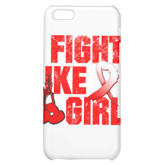 Aplastic Anemia I Fight Like A Girl (Grunge) iPhone 5C Covers