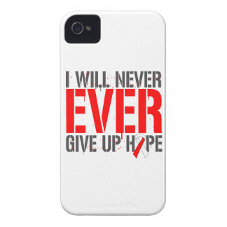 Aplastic Anemia I Will Never Ever Give Up Hope iPhone 4 Case-Mate Cases
