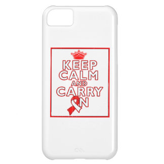 Aplastic Anemia Keep Calm and Carry On iPhone 5C Cover