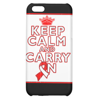 Aplastic Anemia Keep Calm and Carry On Cover For iPhone 5C
