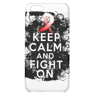Aplastic Anemia Keep Calm and Fight On iPhone 5C Cover