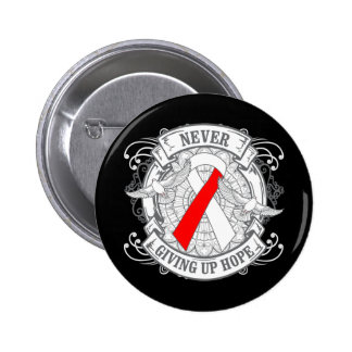 Aplastic Anemia Never Giving Up Hope Button