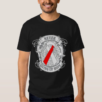 Aplastic Anemia Never Giving Up Hope Shirt