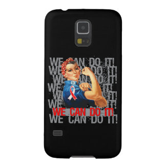 Aplastic Anemia Rosie WE CAN DO IT Galaxy S5 Covers