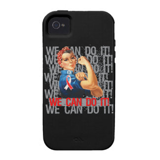 Aplastic Anemia Rosie WE CAN DO IT Vibe iPhone 4 Covers