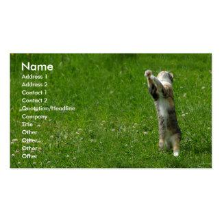 Aplauda sus manos 1 plantillas de tarjetas de visita